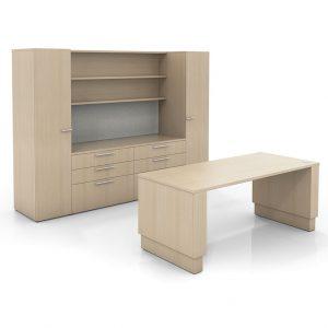 Alan Desk Upside Open Plan Three H