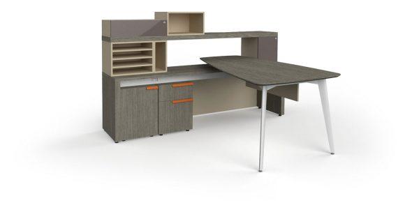 workshelf private office three h alan desk 1