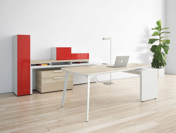 workshelf private office three h alan desk 11
