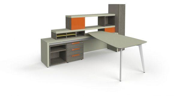 workshelf private office three h alan desk 17