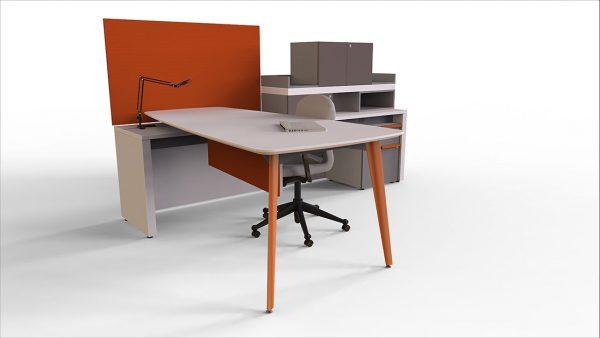 workshelf private office three h alan desk 3