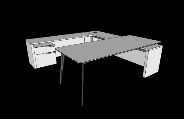 workshelf private office three h alan desk 4