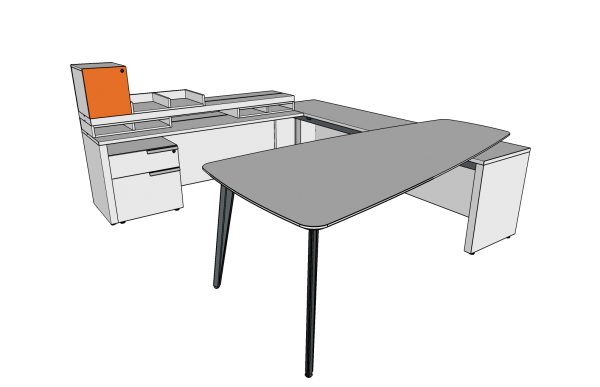 workshelf private office three h alan desk 5