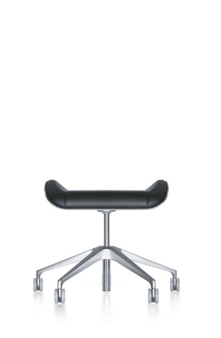 alan desk silver stool seating interstuhl