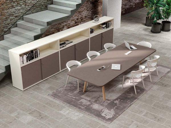 Alan Desk Atreo Wood Meeting Table Alea