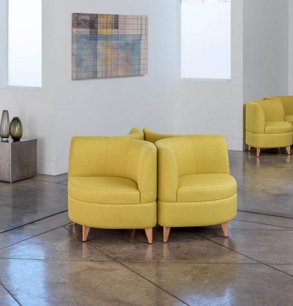 Alan Desk Leaf Lounge Seating Arcadia