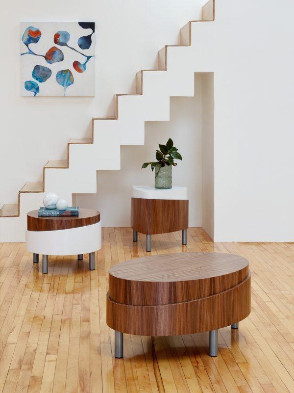 Alan Desk Soleil Occasional Tables Arcadia