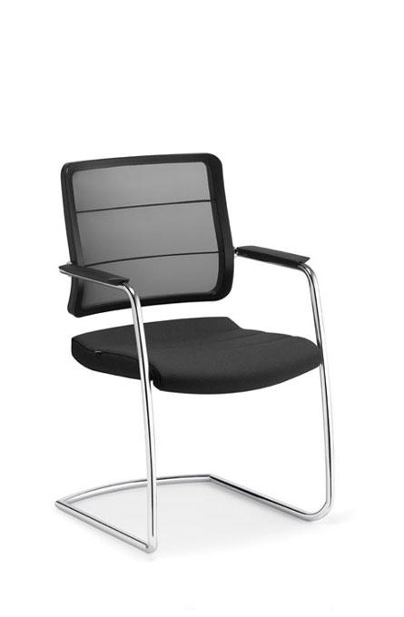 Alan Desk Airpad Guest Chair Interstuhl