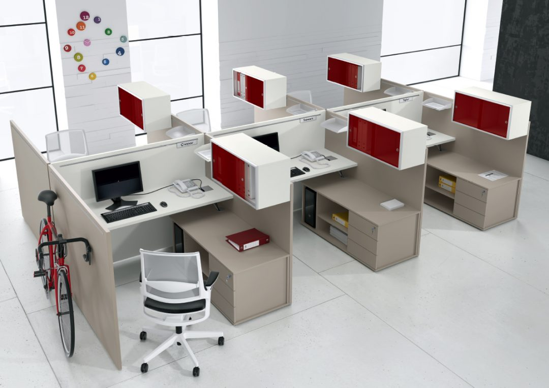 Alan Desk Atlante Open Plan Executive Office Alea