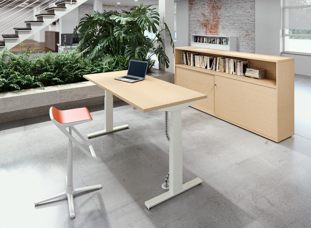 Alan Desk Chrono Heigjht Adjustable Desk Alea