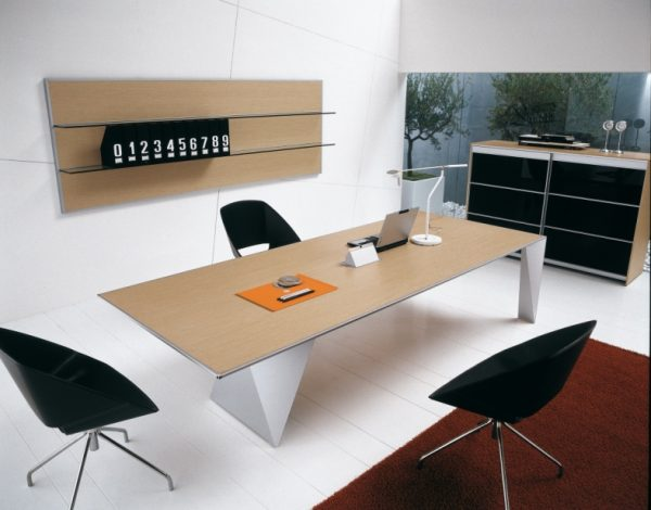 Alan Desk Eracle Meeting Table Alea