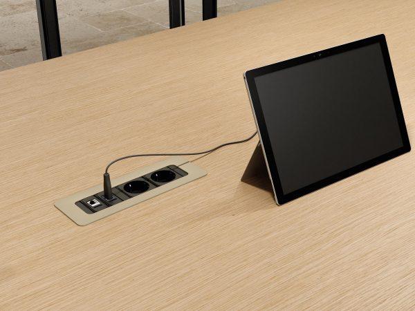 oasi meeting table alea alan desk 5