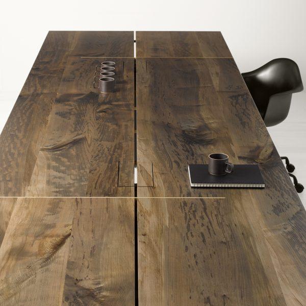 shift urban hardwoods conference table alan desk 10