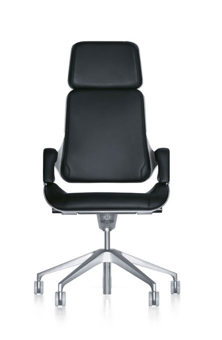 Alan Desk Silver Executive Seating Interstuhl