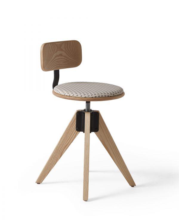 Alan Desk Worksmith Barstool Seating Arcadia