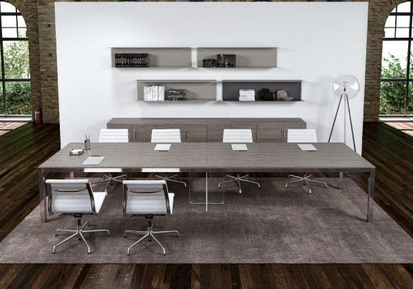 zefiro meeting table alea alan desk 11