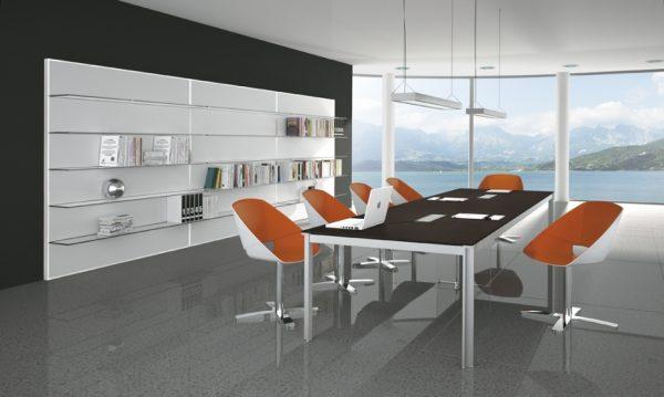 zefiro meeting table alea alan desk 3