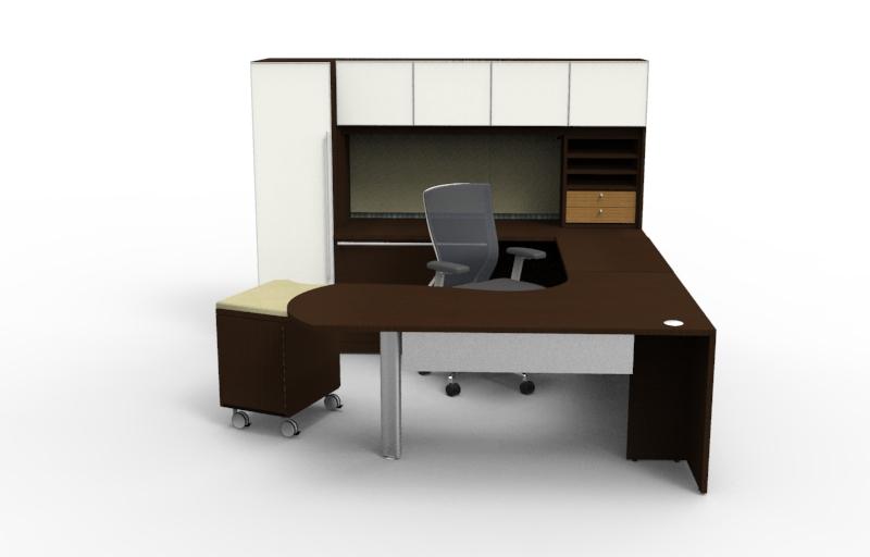 Alan Desk Verde Executive Casegoods Cherryman Industries