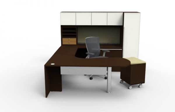 Alan Desk Verde Executive Office Cherryman Industries