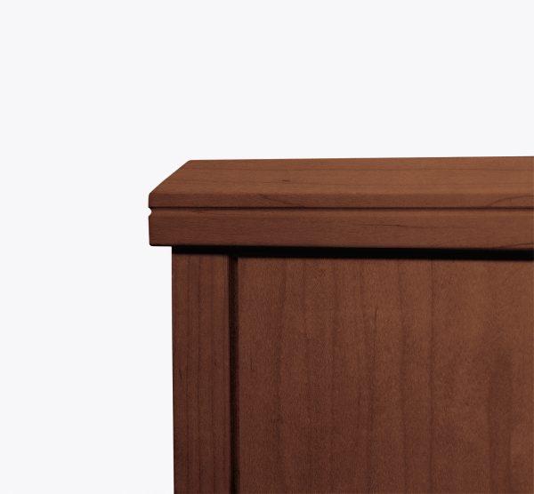millennium casegoods krug alan desk 50