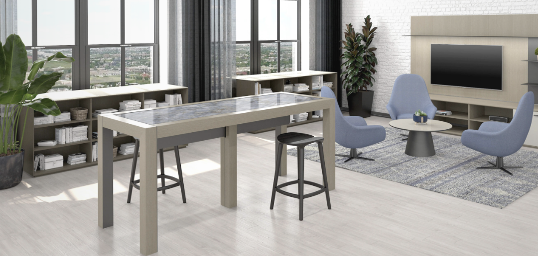 nucraft eopono community table in space