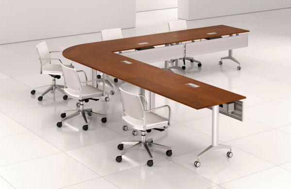 revo reconfiguarbale conference tables krug alan desk 37