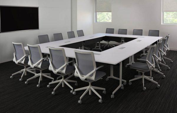 Alan Desk Techniq Conference Table Davis Furniture