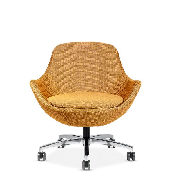 comet conference lounge seating via seating alan desk 22 <ul> <li>multiple textiles and base options</li> <li>backrest: cradling back offers comfort and support.</li> <li>seat: option to upholster the comfortable seat in a different fabric.</li> <li>control mechanisms: choices include fixed, motion-lounge rock (back-and-forth rocking movement) or 360 degree swivel.</li> <li>bases: a variety of styles in polished, matte black and silver finishes including 5-star conference applications.</li> <li>ottomans: add an ottoman, choosing between the square chico style or round luna style. max weight: 300 lb.</li> <li>quick ship: 2 chairs produced in a 48 hour period.</li> <li>warranty: 6 year warranty.</li> </ul>