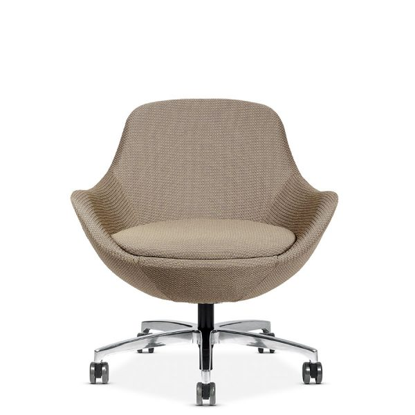 comet conference lounge seating via seating alan desk 23 <ul> <li>multiple textiles and base options</li> <li>backrest: cradling back offers comfort and support.</li> <li>seat: option to upholster the comfortable seat in a different fabric.</li> <li>control mechanisms: choices include fixed, motion-lounge rock (back-and-forth rocking movement) or 360 degree swivel.</li> <li>bases: a variety of styles in polished, matte black and silver finishes including 5-star conference applications.</li> <li>ottomans: add an ottoman, choosing between the square chico style or round luna style. max weight: 300 lb.</li> <li>quick ship: 2 chairs produced in a 48 hour period.</li> <li>warranty: 6 year warranty.</li> </ul>