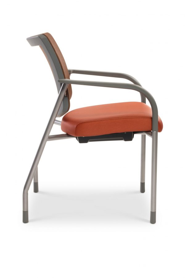 library images vistaii mesh copper meshback chair orange side scaled