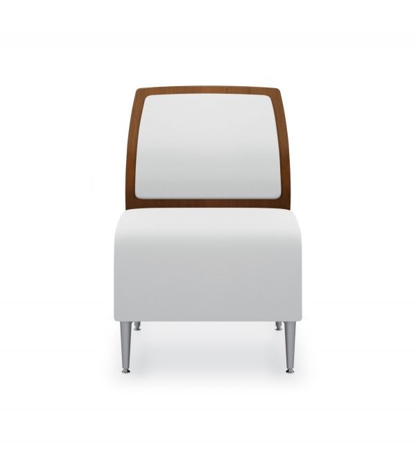 1 seat wood uph front
