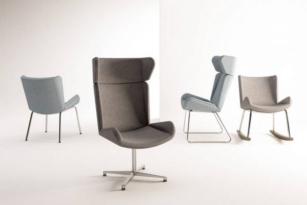 ERG Albury Healthcare Lounge Chair Alan Desk
