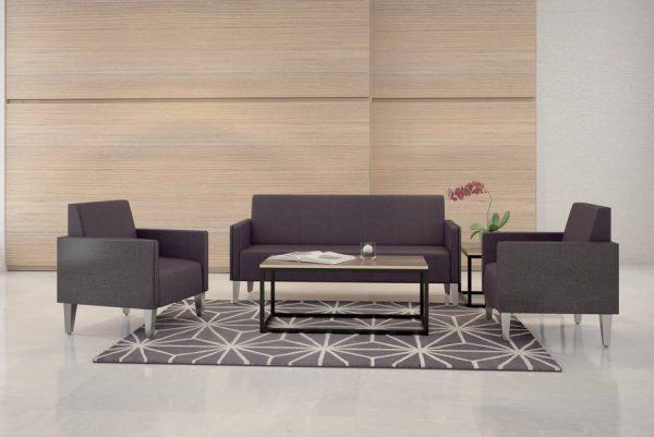 ERG Malibu Lounge Healthcare Lounge Chair Alan Desk