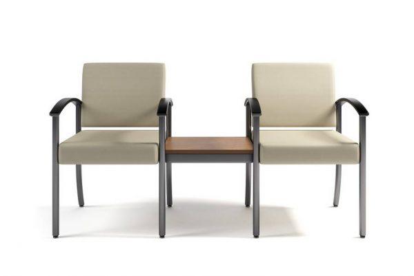 ERG Westlake Metal Seating Healthcare Lounge Alan Desk