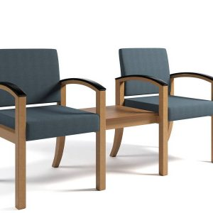 ERG Westlake Wood Healthcare Lounge Seating Alan Desk