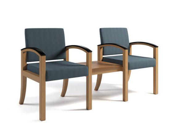 ERG Westlake Wood Healthcare Lounge Seating Alan Desk