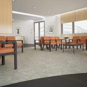 ERG Woburn Healthcare Lounge Seating Alan Desk