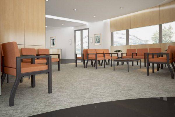 ERG Woburn Healthcare Lounge Seating Alan Desk
