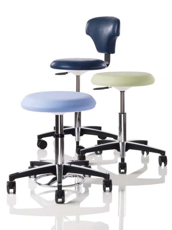 Keilhauer Sky Stool Healthcare Stool Alan Desk