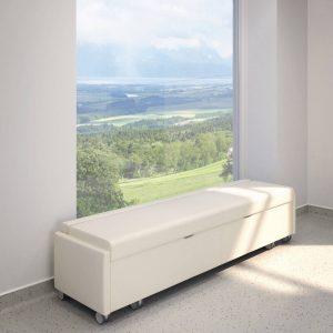 Krug Amelio Bench Sleeper Healthcare Bed Lounge Alan Desk