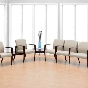 Krug Jordan Multiple Modular Seating Healthcare Guest Alan Desk