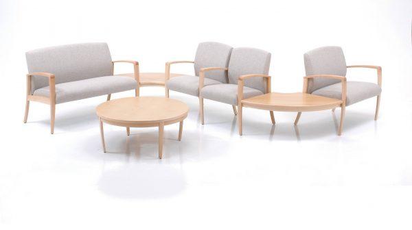 krug jordan multiple modular seating healthcare guest alan desk 2