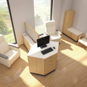 Krug Tranquility infusion bays Healthcare Alan Desk