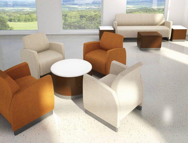 Krug Zola Behavioral Health Seating Lounge Healthcare Alan Desk