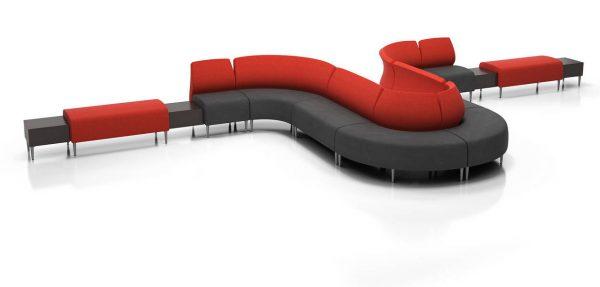 Krug Zola Modular Lounge Seating Healthcare Alan Desk