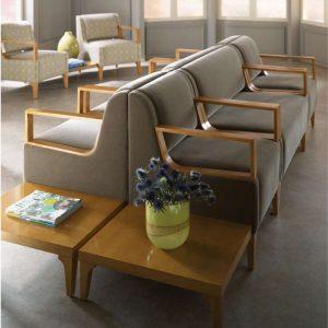 OFS Basil Lounge Seating Healthcare Alan Desk