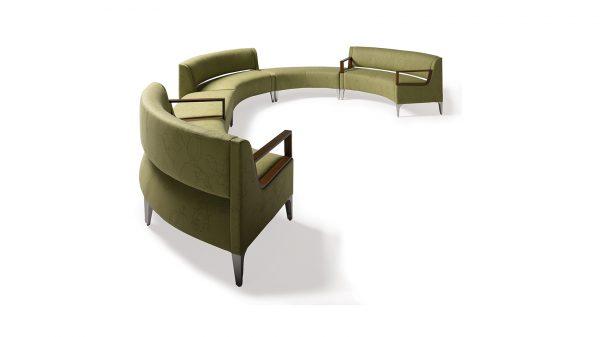 OFS Carolina Basil Modular Lounge Seating Healthcare Alan Desk
