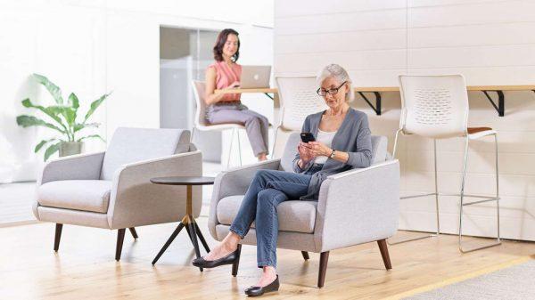 ofs carolina evergreen lounge healthcare alan desk 7