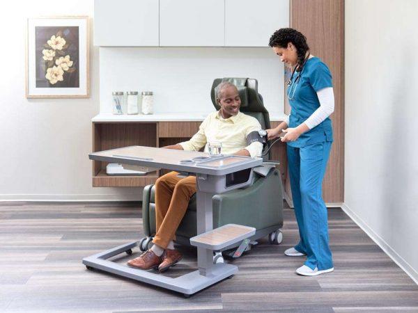 ofs carolina lasata patient healthcare alan desk 1