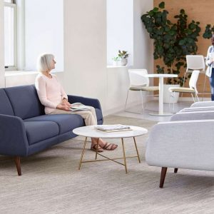 OFS Carolina Evergreen Lounge Healthcare Alan Desk